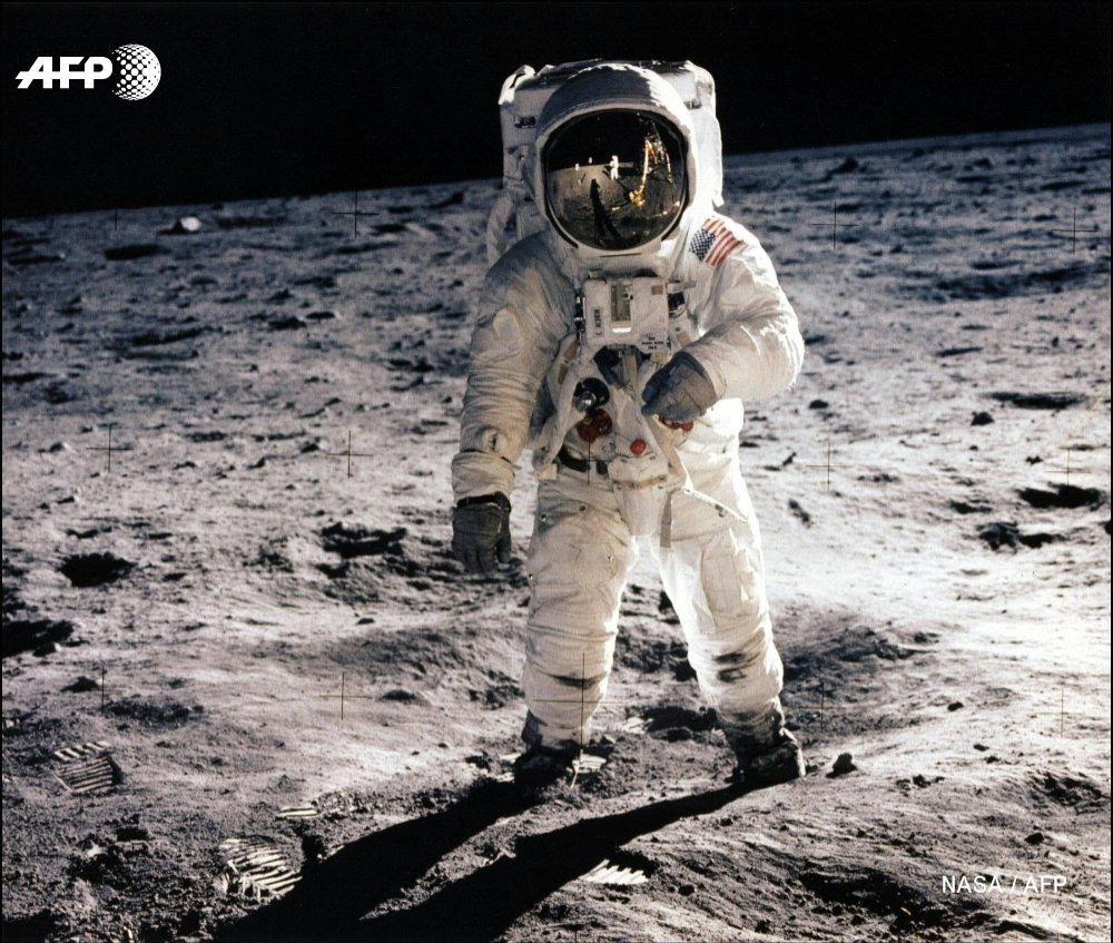 #OnThisDay in 1969, Apollo 11 astronauts Neil Armstrong and Buzz Aldrin take 'one giant leap for mankind' as they walk on the Moon