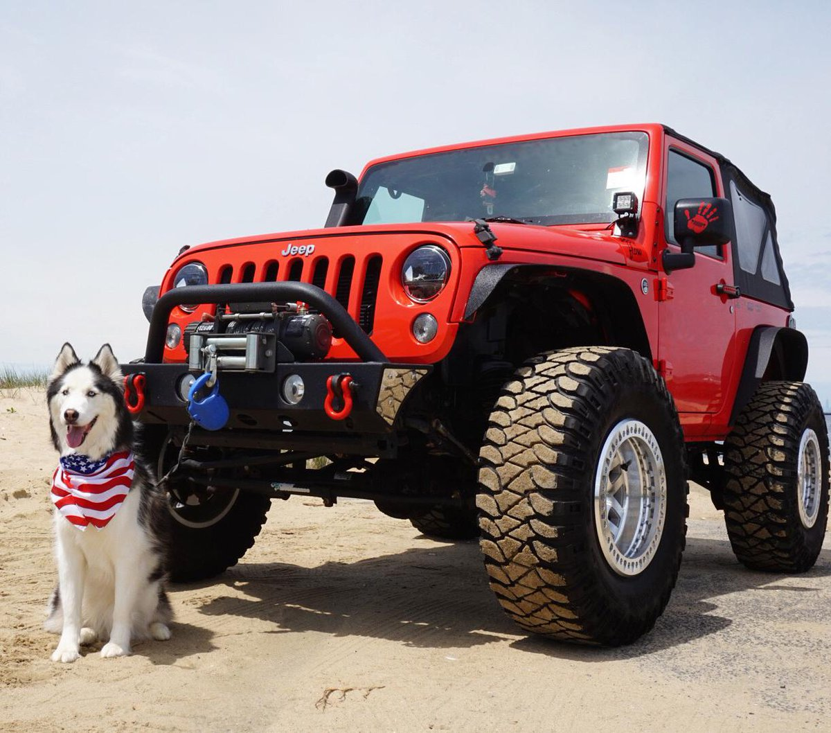Hang with the big dogs. #Jeep 📸: Melissa L.