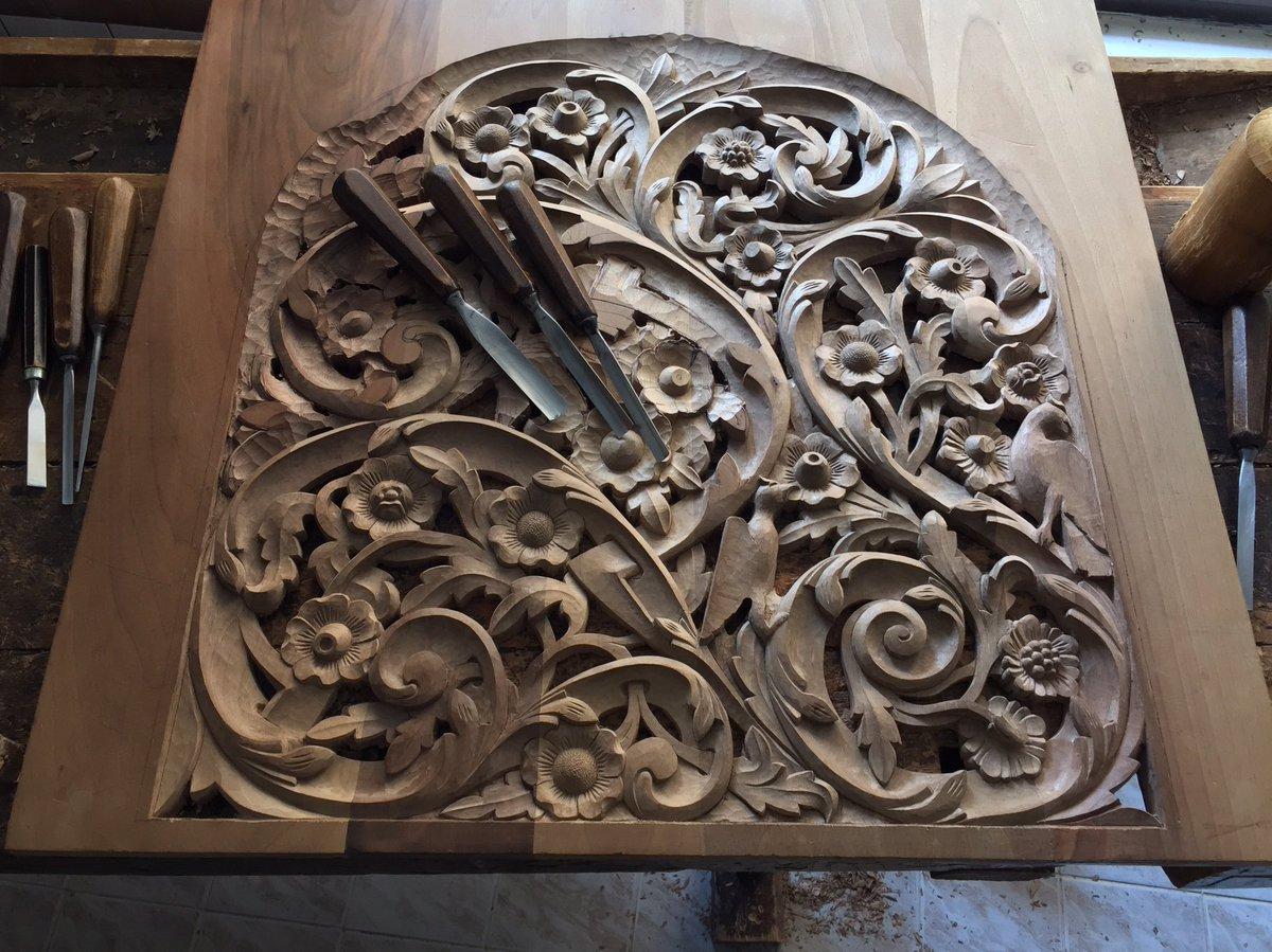 Work in progress #woodcarving #woodworking #crafts #handcarved #handmade #carving #art #wip #studio #wood #craft #woodcraft #creative<br>http://pic.twitter.com/60OtpnZTIU