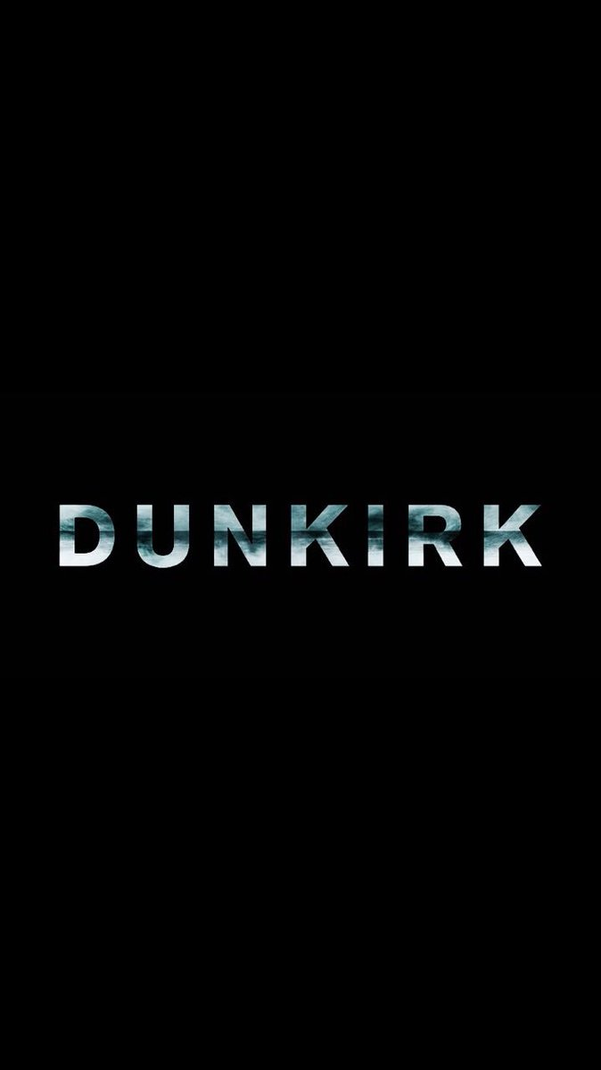 Honored to have been a part of this, I hope you love it.  Dunkirk is out tomorrow.  See it in IMAX. H