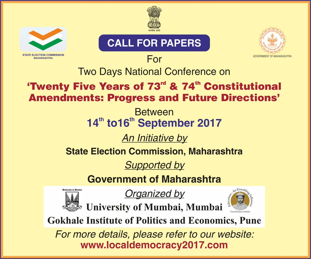 We are pleased to announce a two day National Conference between 14th & 16th September 2017. To learn more, visit http://bit.ly/2ubtdMZ