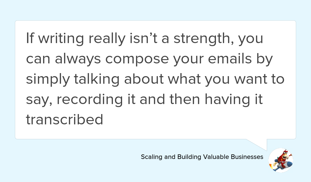 &quot;This will give your emails a conversational feel, which is always a good thing&quot;  https:// goo.gl/4lb3Iw  &nbsp;   #Email #contacts #smallbiz #Support<br>http://pic.twitter.com/FDQwzkIppi