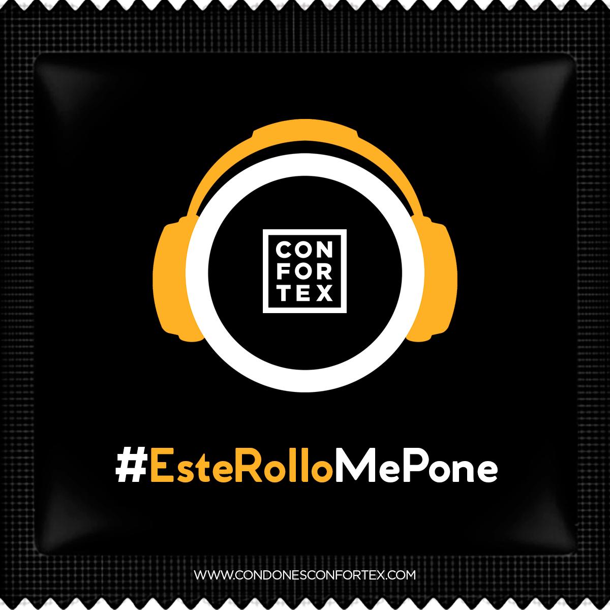 Condones Confortex #EsteRolloMePone