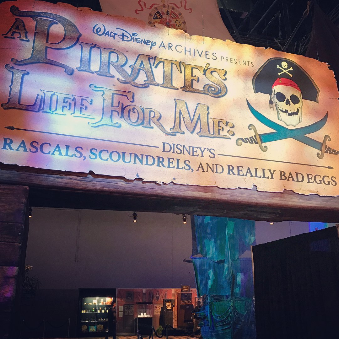 #Repost @disneypirates ・・ Attendees of #D23Expo  were able to set sail through Walt Disney Archives&#39; &quot;A Pirates Life for Me.&quot; #PiratesLife <br>http://pic.twitter.com/n4jmnnlVR4