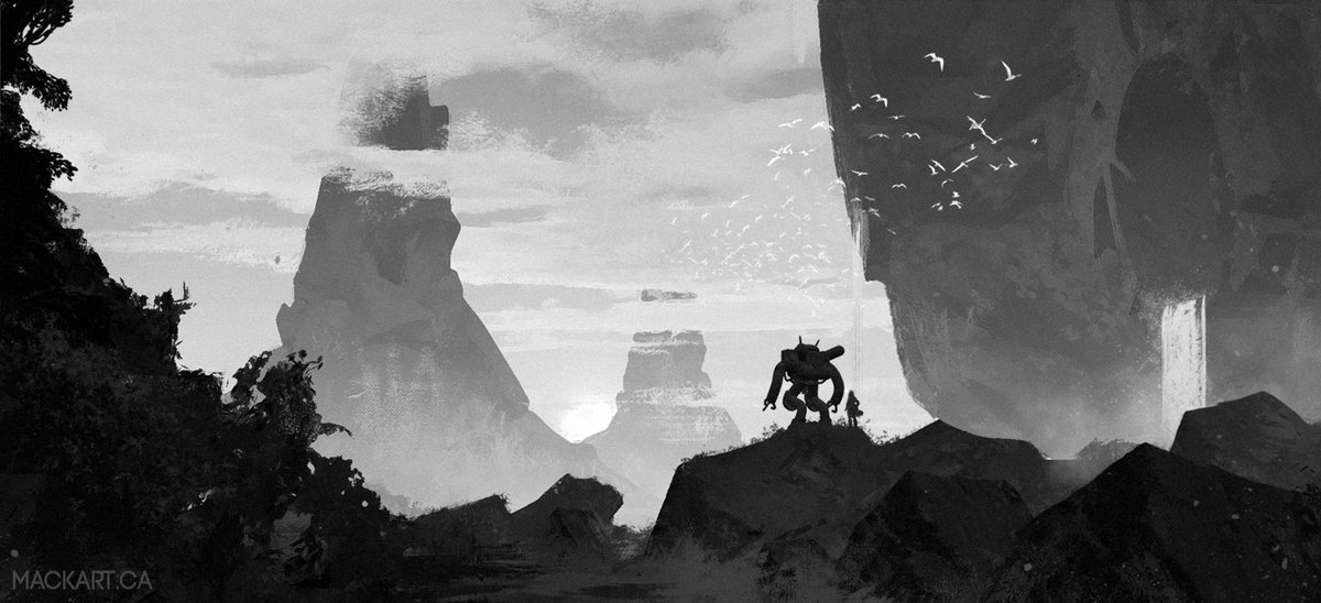 A rough sketch from a couple of weeks ago. Slowly developing a story.#conceptart #conceptsketch #art #concept #design #AstationHQ #enviro <br>http://pic.twitter.com/Uu0dYv2I6D