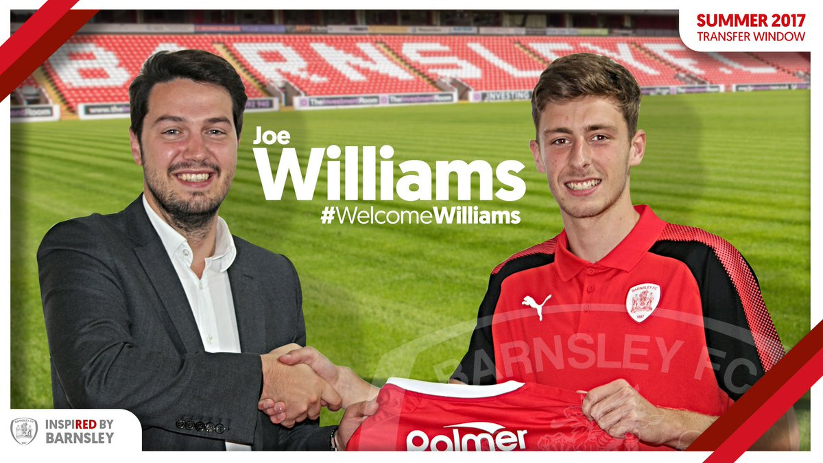 📄🖊️ | We are pleased to announce the signing of Joe Williams from @Everton! #COYR