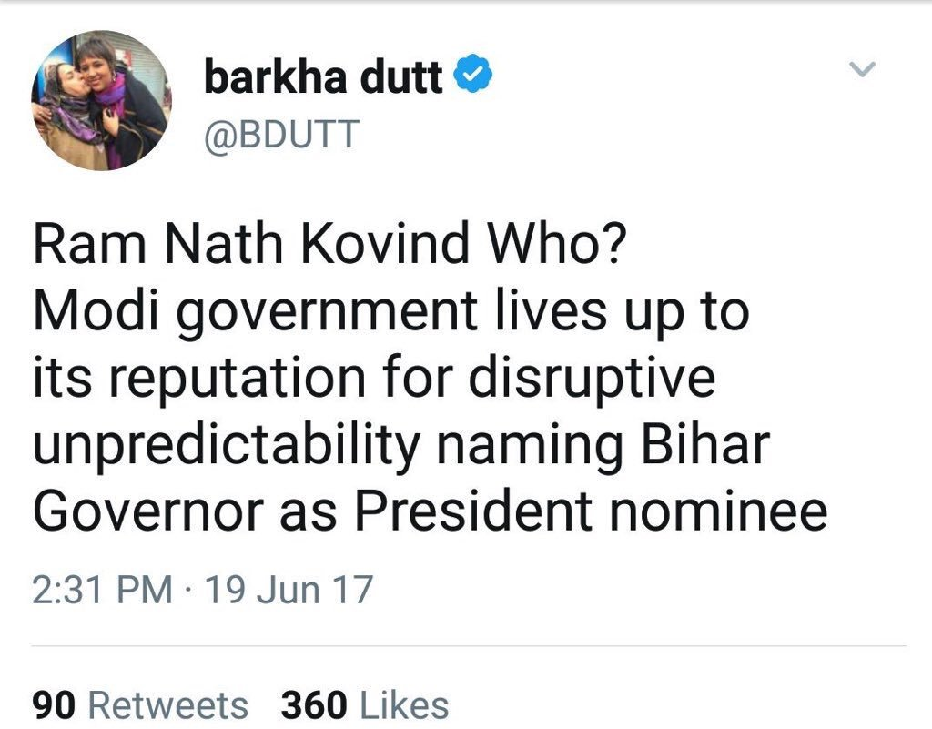 Hey @BDUTT i hope the ''Who'' is all cle...