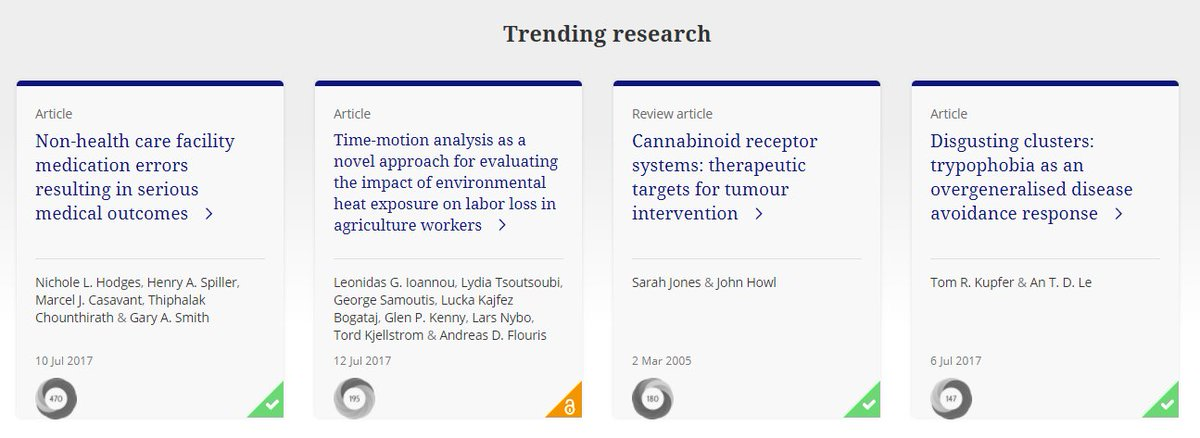 DYK we highlight trending research every week on  http://www. tandfonline.com  &nbsp;  ? Scroll down to check out what&#39;s hot this week... #researchimpact <br>http://pic.twitter.com/4KSnvAYQmj