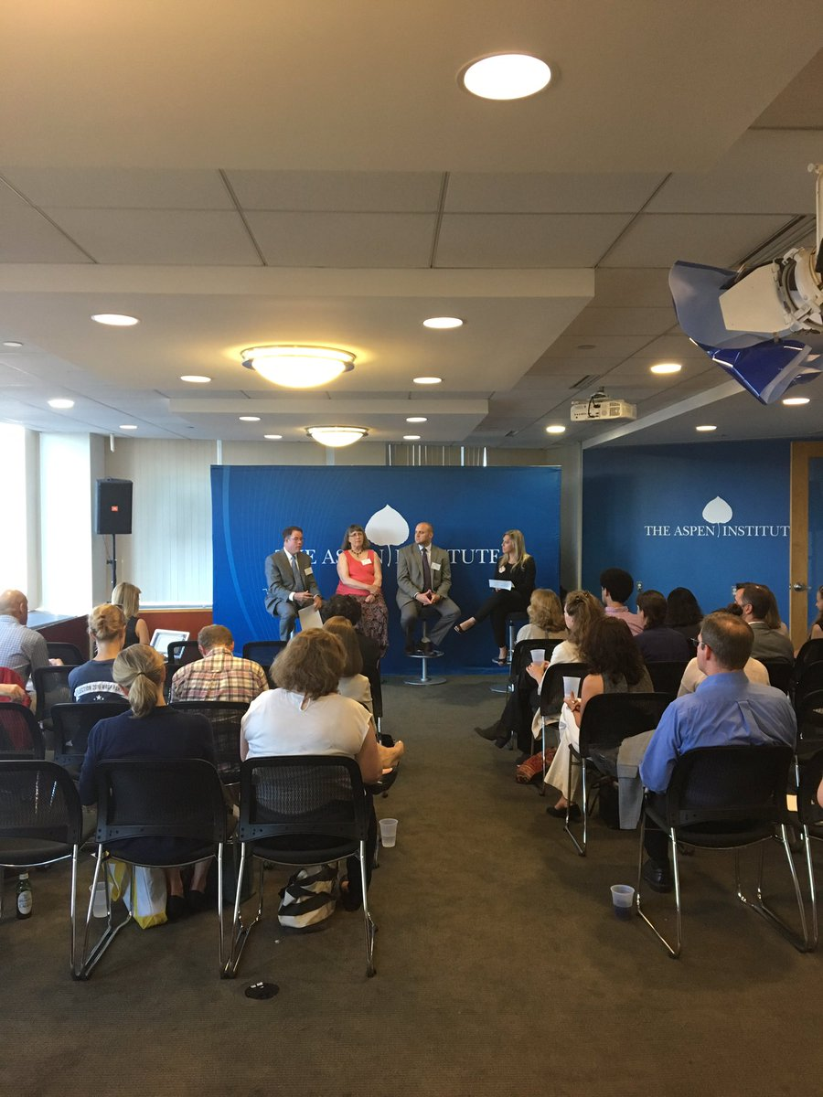 More from our D.C. @AHCJ event yesterday at @AspenInstitute, with experts from @Altarum!