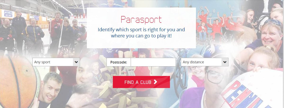 Check out @Parasportuk&#39;s nifty tool to help people with a #disability find the sport &amp; club that&#39;s right for them.    http:// parasport.org.uk  &nbsp;  <br>http://pic.twitter.com/WOVvucSY7n