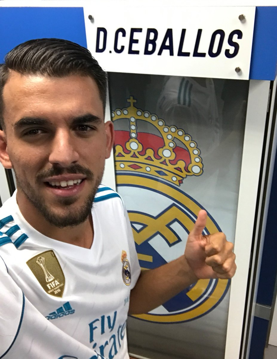 f7aab2c083f Real Madrid new signing Dani Ceballos will wear the number 24 shirt at the  club. (Source   realmadriden)pic.twitter.com Z7aubHptL3