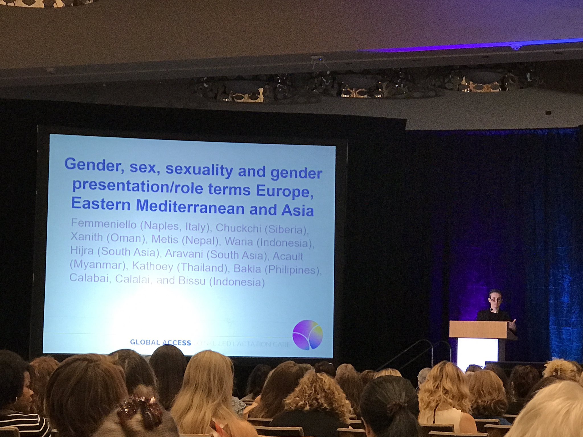 Alice Farrow speaks about Gender Diversity, Language, and Inclusion for Lactation Specialists #ilca17 #LGBTQ #support https://t.co/2lLuRccvA7