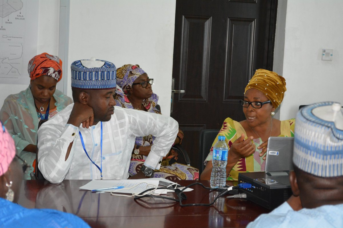 @UNDPNigeria: Carrying out routine Institutional Capacity strengthening 4 stabilization, cohesion, recovery &amp; development in #NE #Nigeria.<br>http://pic.twitter.com/xUoEXDmaiB
