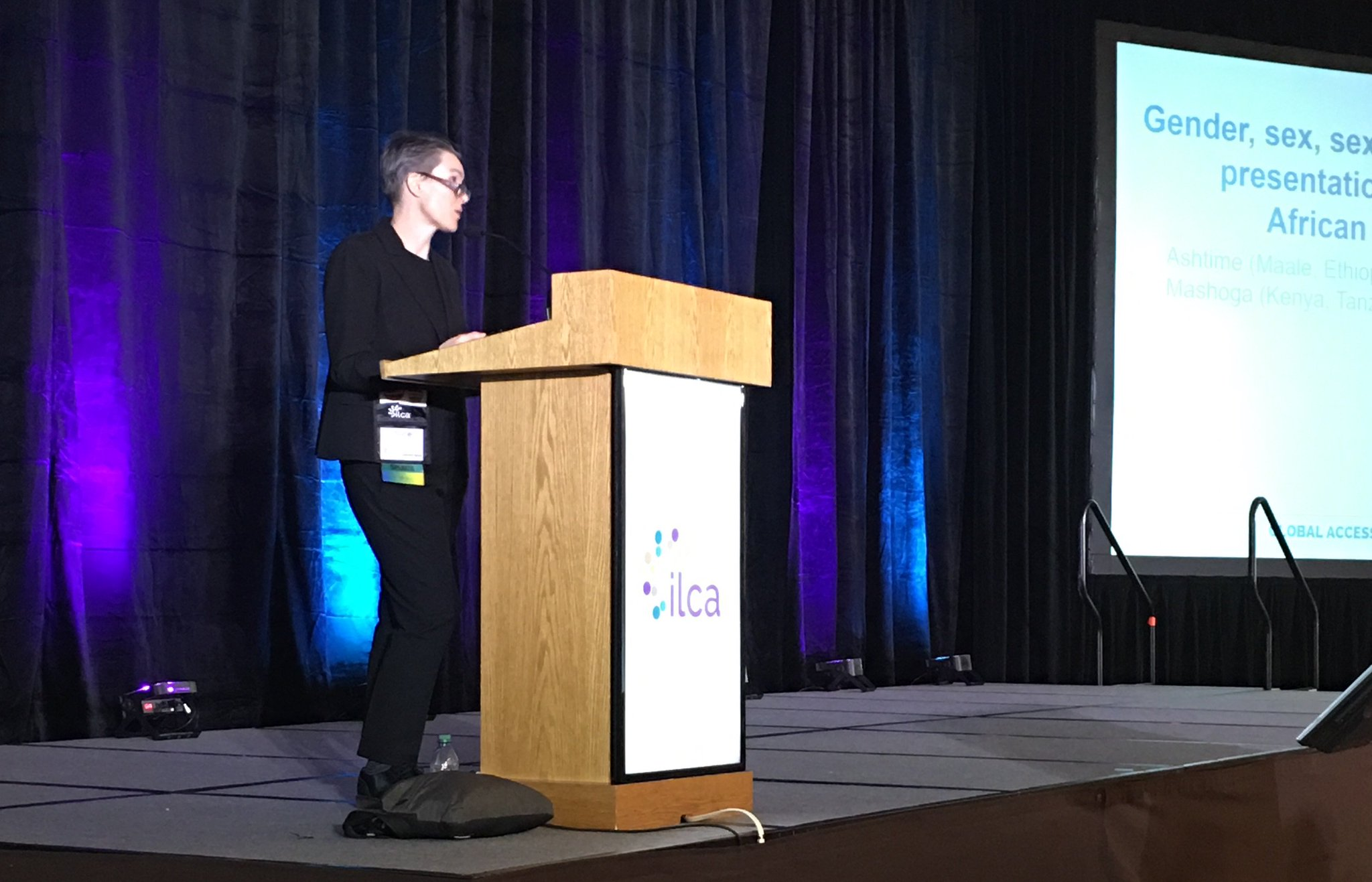 Alice Farrow, IBCLC, presenting at #ilca17 on Gender Diversity, Language, and Inclusion for Lactation Specialists. https://t.co/jT25nLnJHz