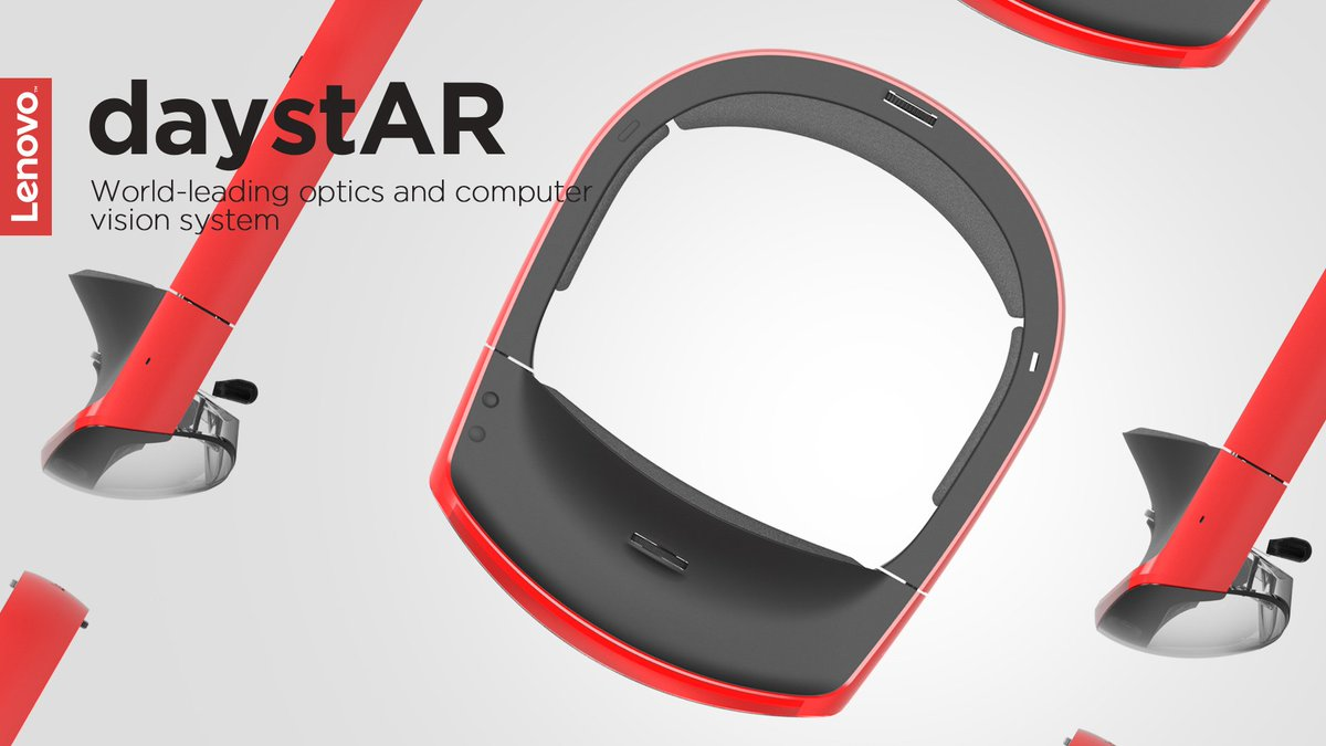 Lenovo Reveals AR Headset DaystAR https://t.co/W5uwmoIpFZ @lenovo