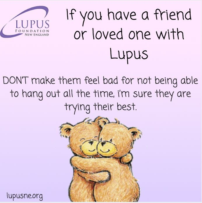 Tips for if you have a friend or loved one with #Lupus. What is your advice? Let #LupusNE know!<br>http://pic.twitter.com/lEAJc6CWWw