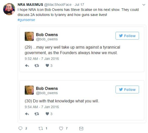 This #Gunsense #Troll is using the pics of @bob_owens Twitter &amp; FB accts to make fun of his death. Please have UR followers report this.<br>http://pic.twitter.com/7fchFpcakr