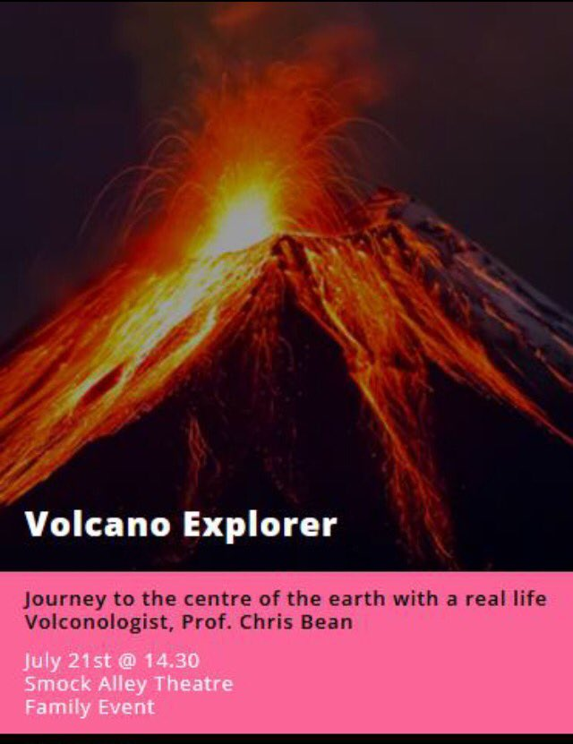 test Twitter Media - 21 July - Journey to the centre of Earth with Volcanologist Chris Bean from @dias_geophysics during @festofcuriosity https://t.co/WrdGNorRUI https://t.co/bmZ6AnU4Oe