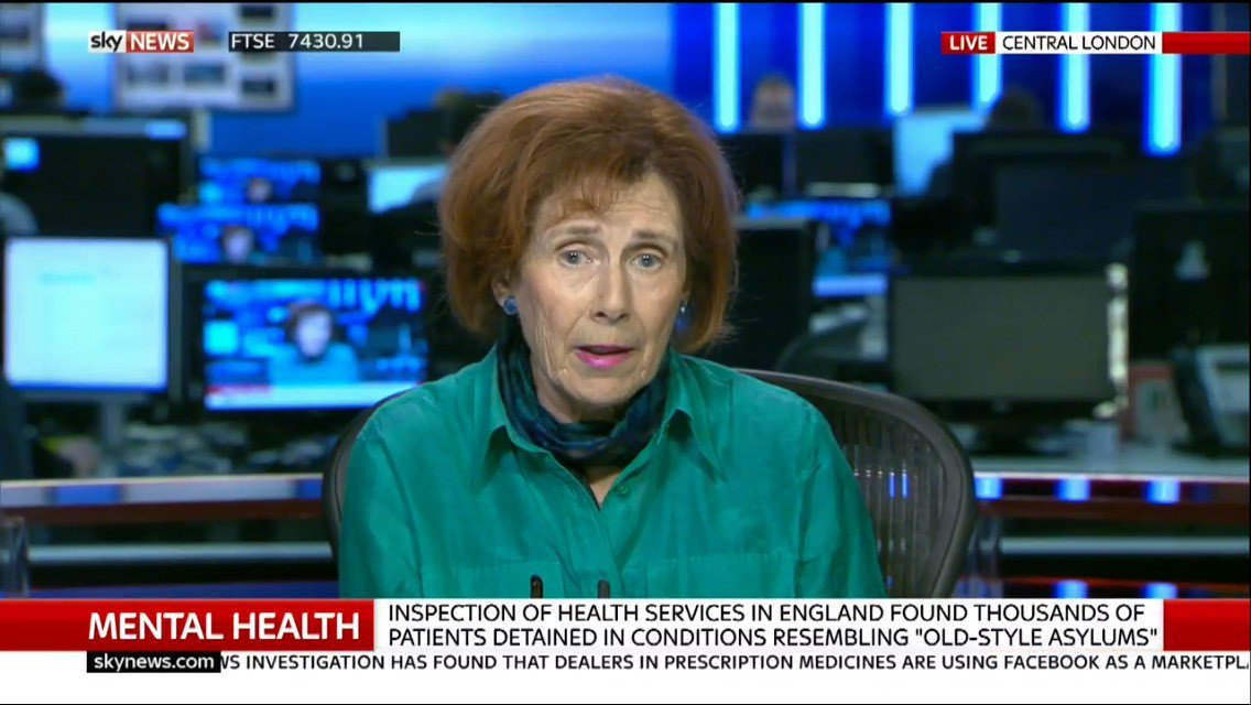 "Our CEO @countessSANE tells @SkyNews: ""There's an acute shortage of nursing staff... We don't have the infrastructure of care."" #stateofmh https://t.co/AlRMkGhWNA"