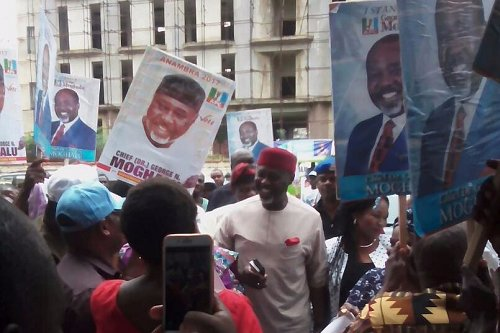 Some aspirants – Andy Ubah, Tony Nwoye, Bart Nwibe, George Moghalu – have all picked the APC nomination forms for Anambra governorship election.