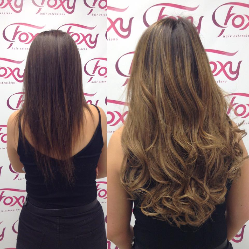 Foxy Hair Extensions On Twitter A Full Foxy Makeoverhair Colour