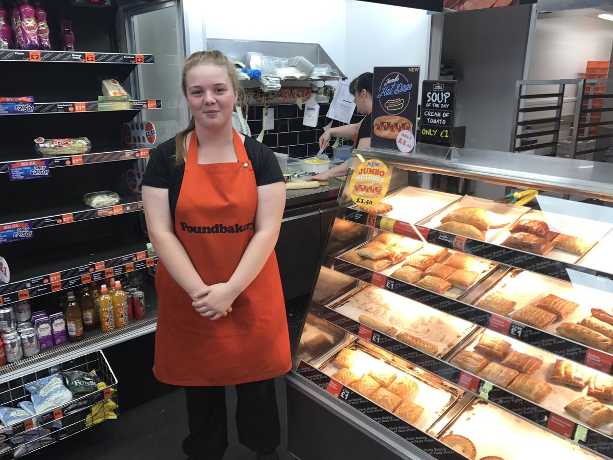 Huge congratulations to one of our students Lucy who has now gained full time employment with poundbakery @SharksCommunity #believe #achieve <br>http://pic.twitter.com/oG2oyZ4PVy