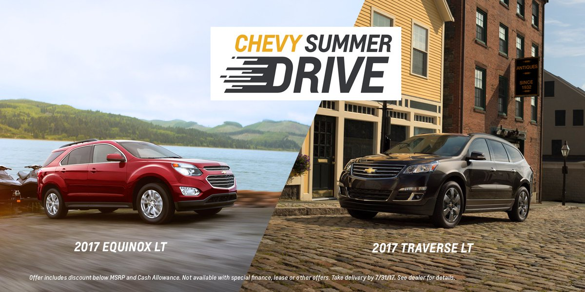 Mckelvey Chevrolet On Twitter It S The Chevy Summer Drive