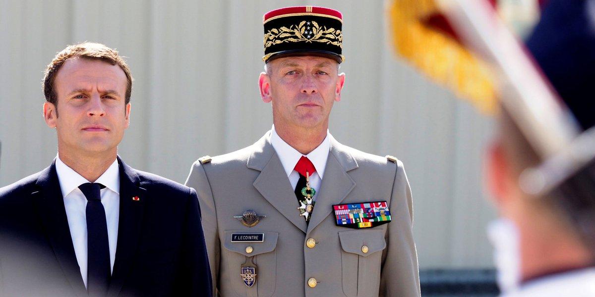 Macron annonce que seul le budget des armées augmentera en 2018 https://t.co/ju3c8ZuTdL #JDD