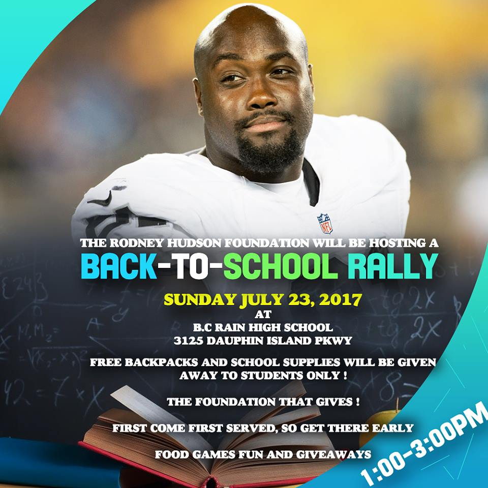Rodney Hudson Foundation offers free school supplies to