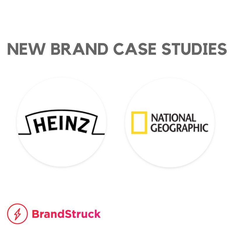 Two new #brandstrategy case studies are now available on BrandStruck.  https:// brandstruck.co/heinz/  &nbsp;    https:// brandstruck.co/national-geogr aphic/ &nbsp; …  #branding <br>http://pic.twitter.com/uNghgrauUq