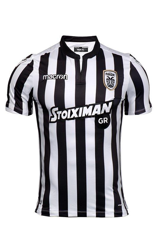 RT if you prefer the black&amp;white stripes kit and FAV if you like the black one #PAOK #kits #presentation <br>http://pic.twitter.com/feJMS5tspO