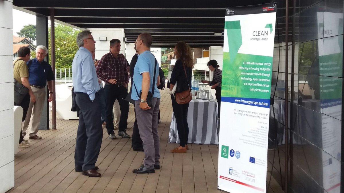 Stakeholders of energy efficiency sector know CLEAN in San Sebastian (Spain):   #interreg