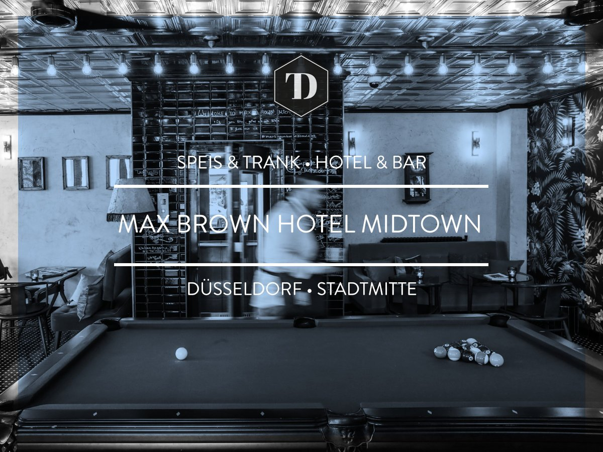 "the dorf on twitter: ""bar & social space @ max brown hotel midtown"
