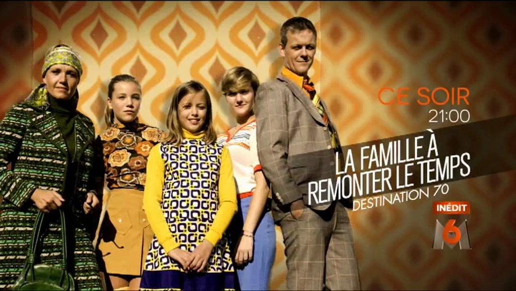 'La famille à remonter le temps' revient dans les années 70 ce soir sur @M6 https://t.co/koSzvVUJha