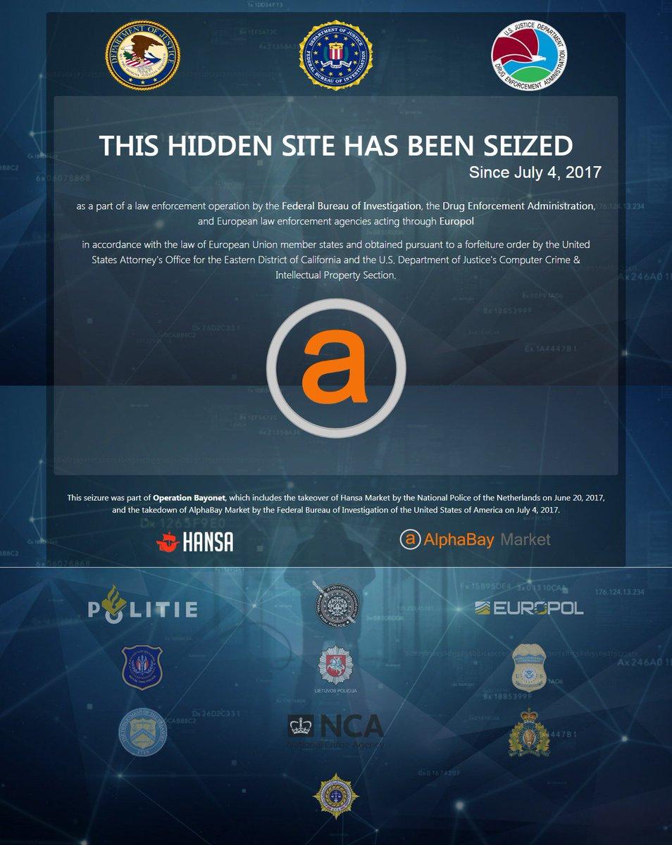 """女装 工藤仁美 This image states: """"This hidden site has been seized since July 4, 2017"""