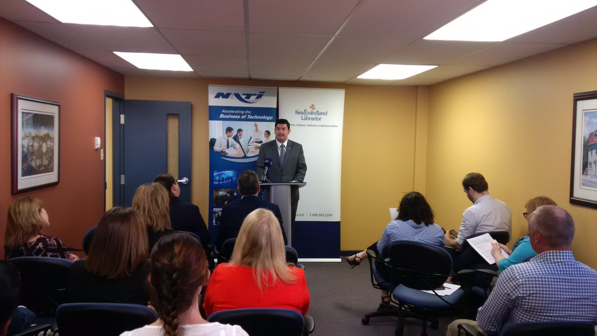 Today @MitchelmoreMHA announced InnovateNL, the next step in @GovNL approach to fostering greater innovation.