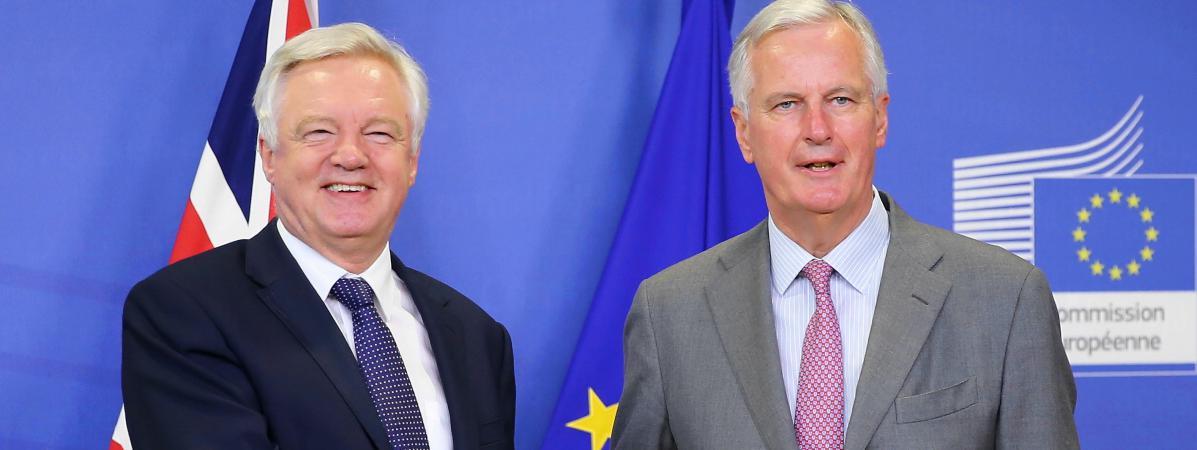 Négociations sur le Brexit : fin du premier round d'observation entre les Britanniques et l'Union européenne https://t.co/U36fRrRvqS
