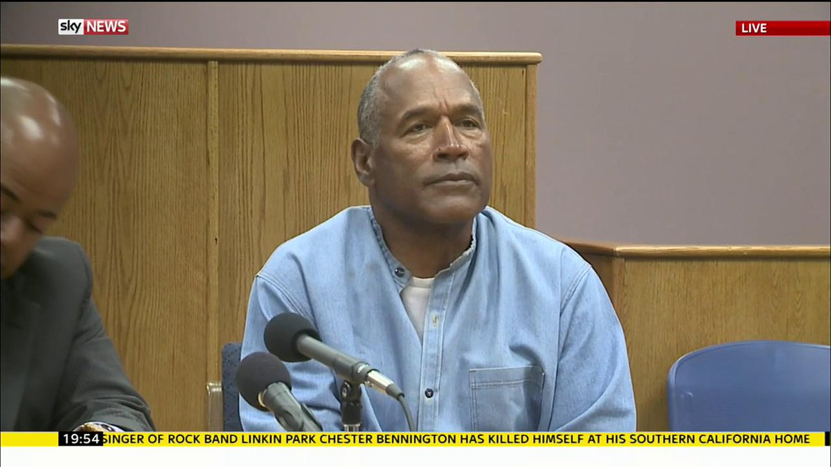 OJ Simpson will be released from prison in October. Watch the parole b...