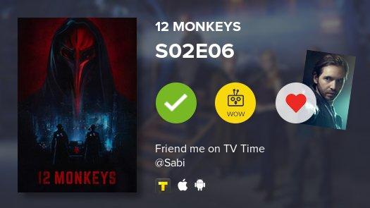 12 Monkeys ~ S02E06  ~ #12monkeys  https://t.co/Dq56N666dW #tvtime htt...
