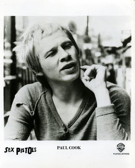 Happy Birthday to Paul Cook of Sex Pistols. His wife, Jeni Cook, used to perform with Culture Club,