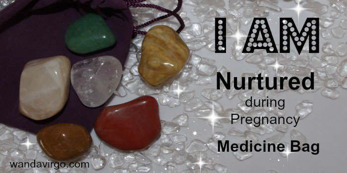 I AM #Nurtured #Crystal Medicine Bag for supporting a healthy #pregnancy &amp; #fetal growth  http:// tinyurl.com/h5w7h9u  &nbsp;  <br>http://pic.twitter.com/5gT5FY8zrH