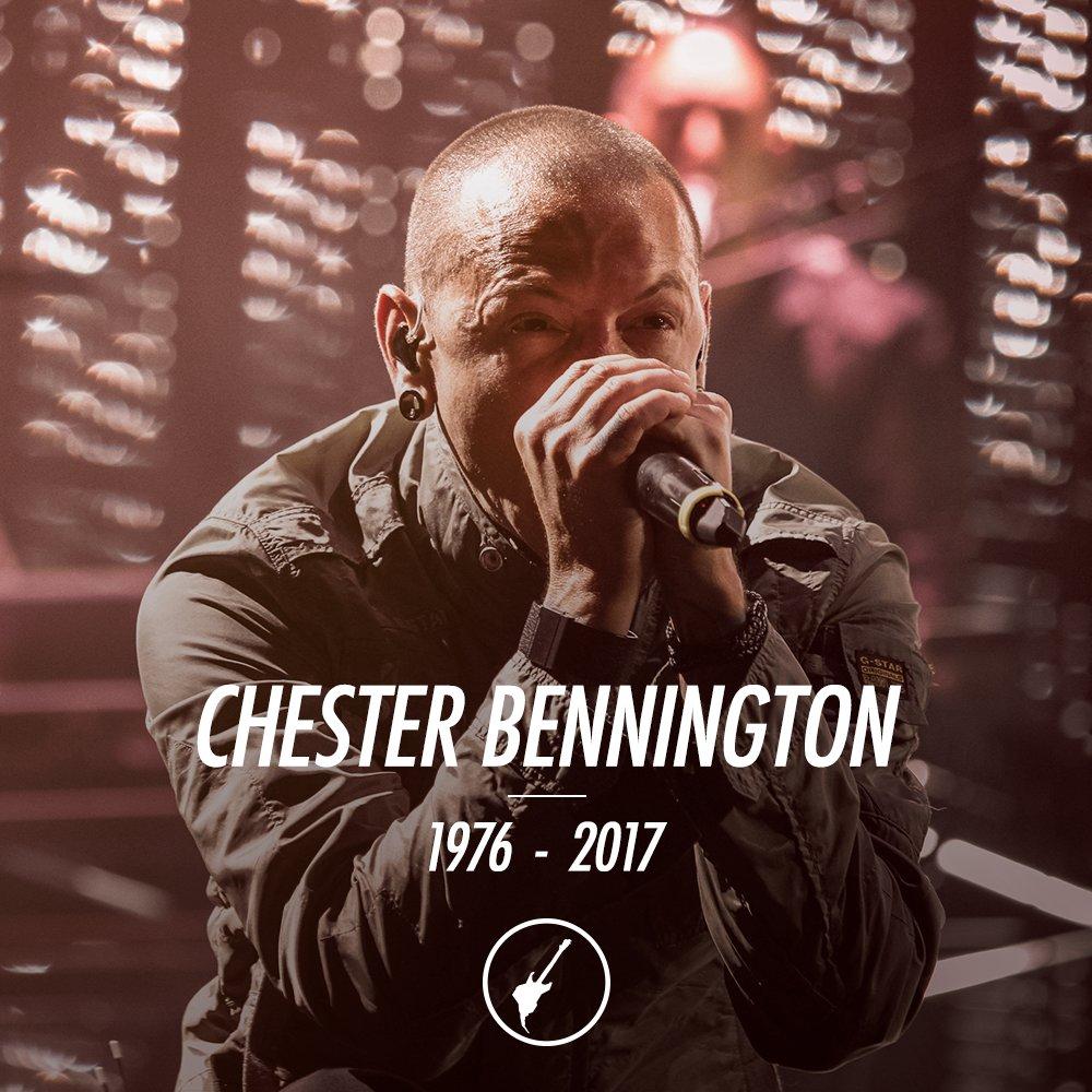 Uma voz importante da história do rock nos deixou hj, Chester Bennington, do Linkin Park. Fica a nossa homenagem a esse grande artista.