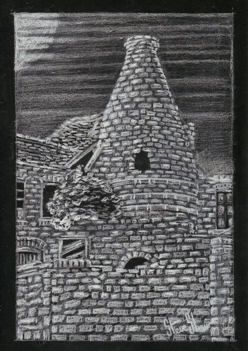 &quot;Fade to Grey&quot; and&quot;Dust and Ashes&quot;white #pencil #drawings #pottery #heritage.<br>http://pic.twitter.com/uLPf0G7AZN