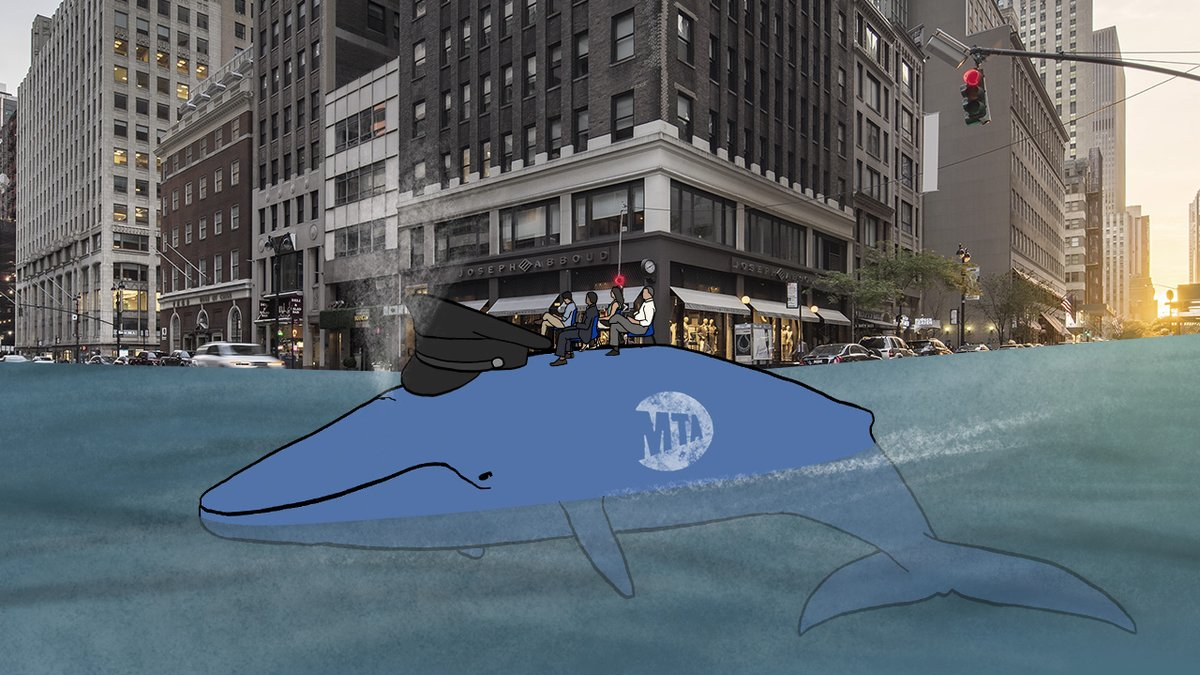 We Hired An Artist To Depict How Climate Change Would Alter New York City, And Unfortunately He Made It Look Badass clckhl.co/fq601oA