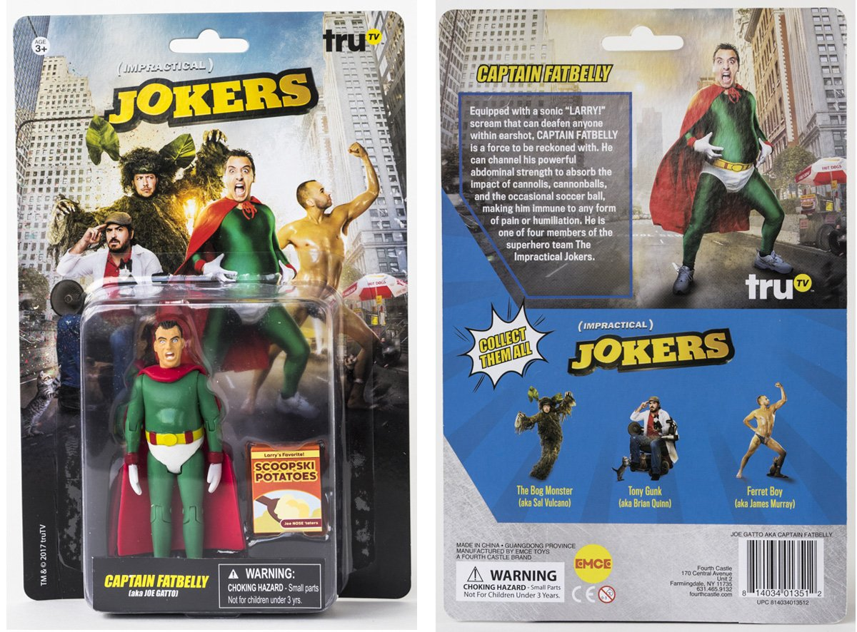 Impractical jokers action figures