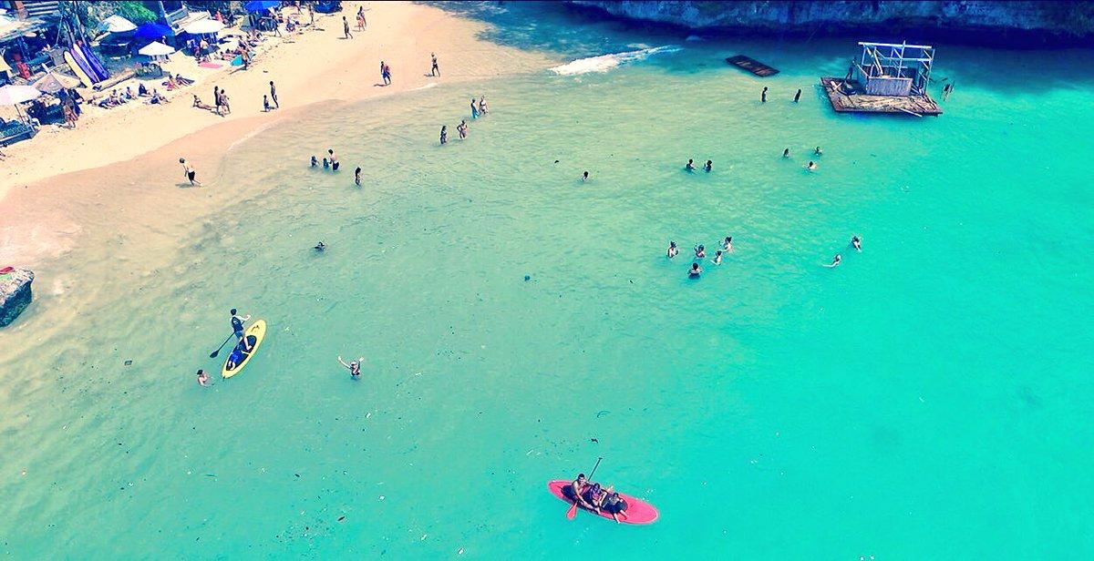 Having fun swimming at #padangpadang #beach . Can you spot me? #phantom3 #travel #Asia #wanderlust #adventuretravel #SaltLife @RealSaltLife<br>http://pic.twitter.com/ejQICJ59sg
