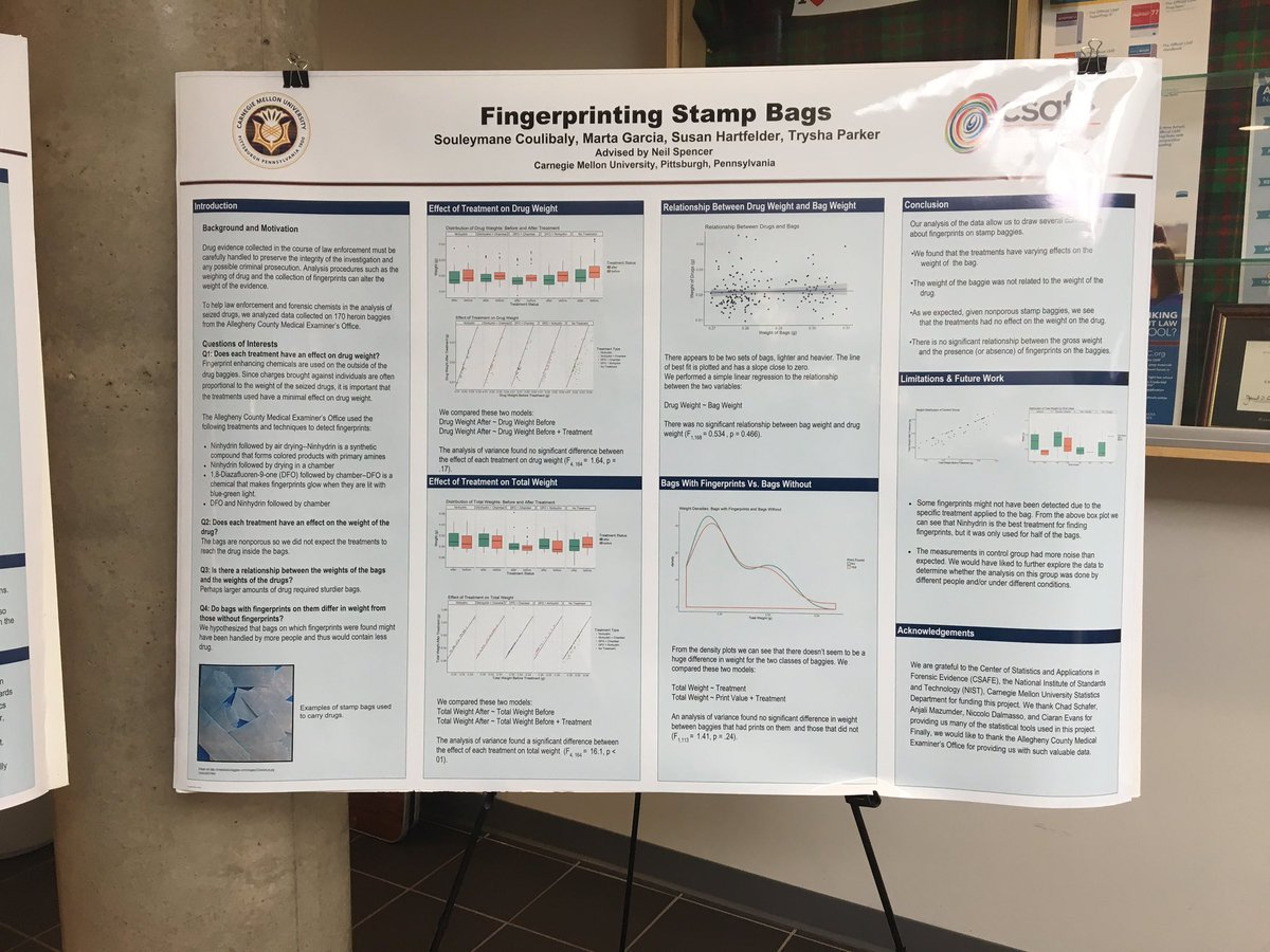 Stop By For The Summer Undergrad Research Programs Celebration Weve Got Posters Presentations Cmustats Statpride CMU DietrichHSSpictwitter