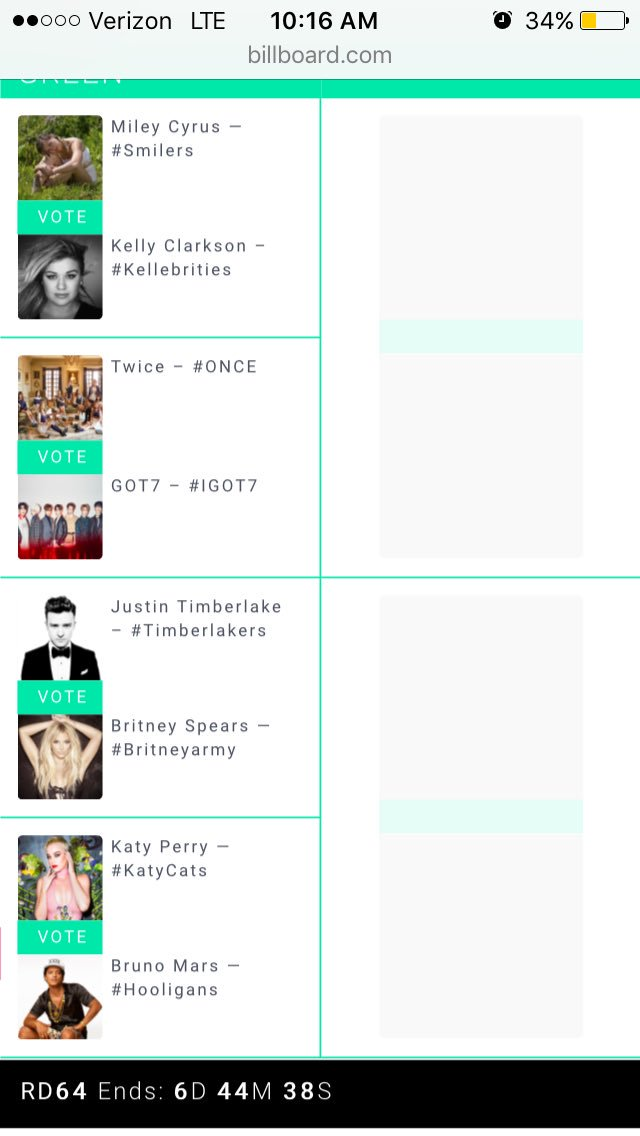 WAKE UP #BritneyArmy ! On the 26th we will be able to vote for the Britney Army against the Timberlakes! WE HAVE TO WIN! #GET #READY #VOTE <br>http://pic.twitter.com/ELK7i0UOzk