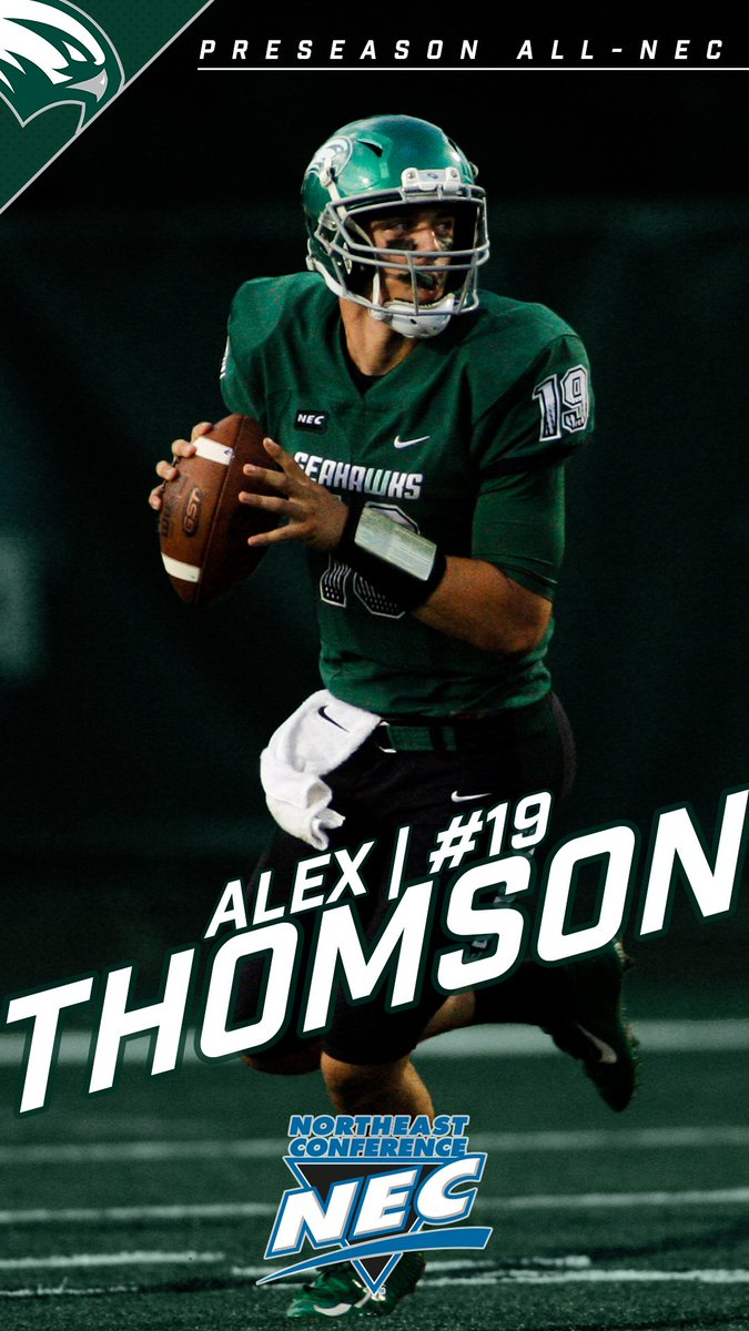 Wagner Seahawks On Twitter Alex Thomson Is The Fourth Seahawk To