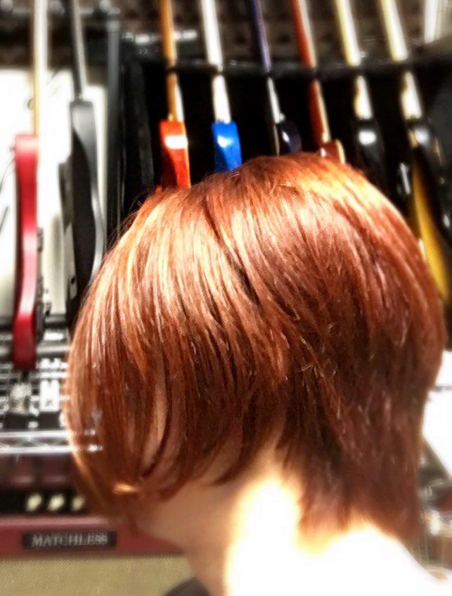 SMT開始の札幌に備えて美容室行ってきた! ちょっと寝癖だけど良い感じだと思う! 前半はこれで乗り切る!